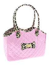 Patent Pink Pet Carrier - A pet carrier and fashion statement rolled into one! Our Patent Pink Pet Carrier is especially designed to help you look fabulous and make your pet's journey as comfortable and as safe as possible. It has two mesh windows, one at the front to make it possible for your pet to take in the view during...